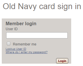 Old Navy Bill Pay Online