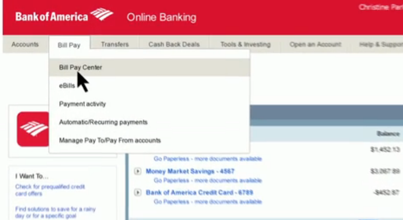 Bank Of America Personal Checking Account 3 Types