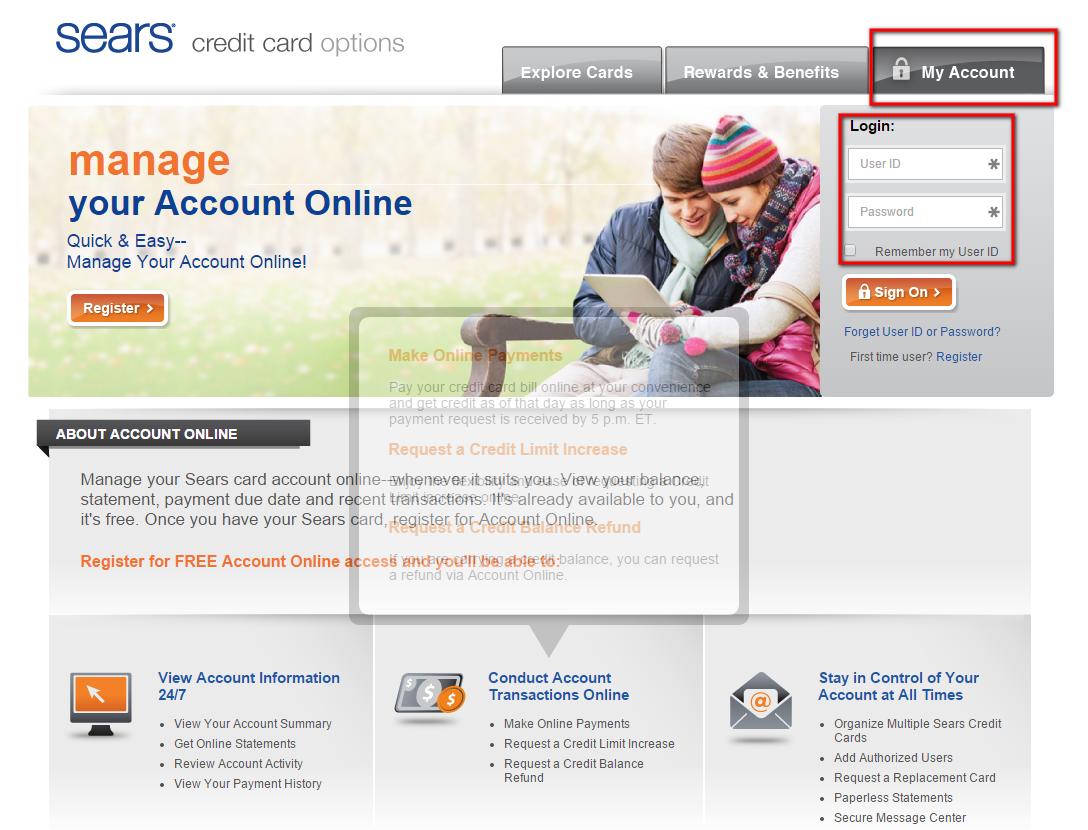 Sears Bill Pay - KUDOSpayments.Com