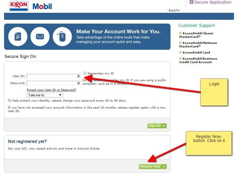 Register and access an online account with exxon mobil mycheckweb exxonmobil com login colourmoves