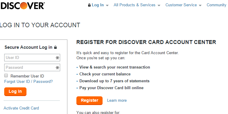Is the Discover Card Login secure