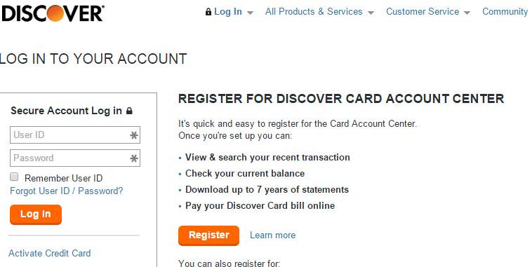 www.discovercard.com login Discover Credit Card - KUDOSpayments.Com