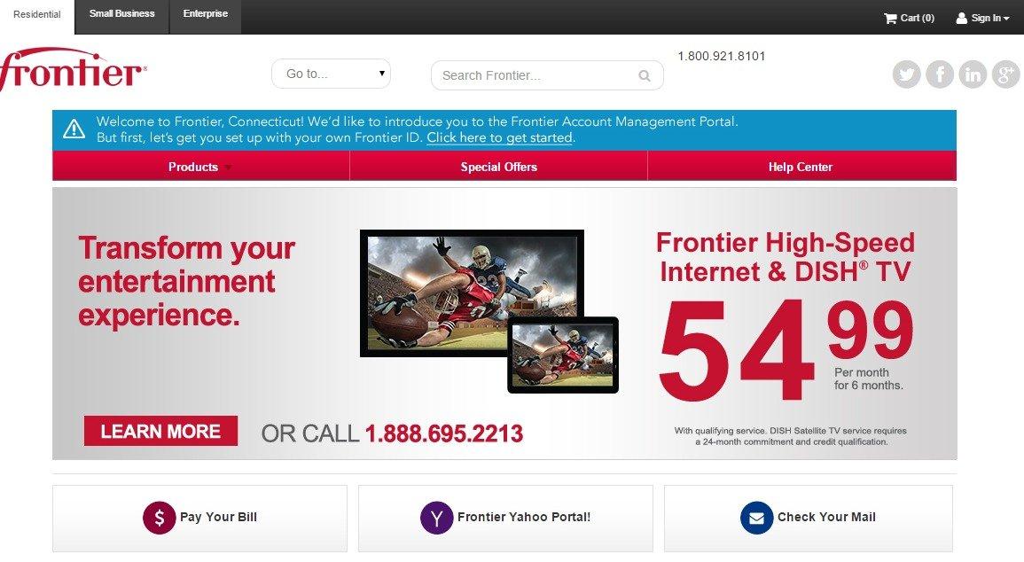 Frontier communications bundle deals