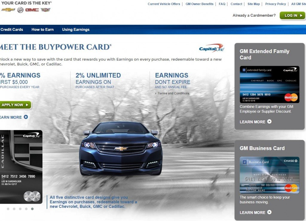 general motors credit card mycheckweb com