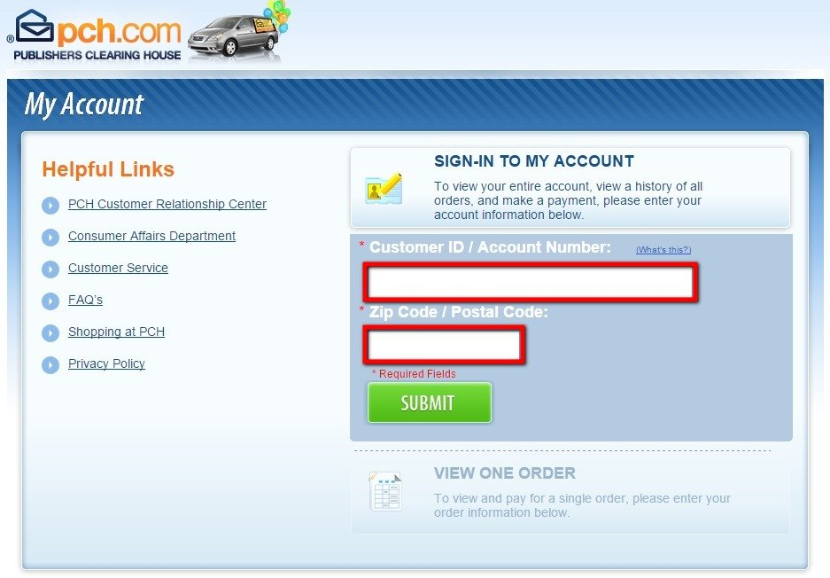 How to pay your PCH Bill using MyAccount PCH Com