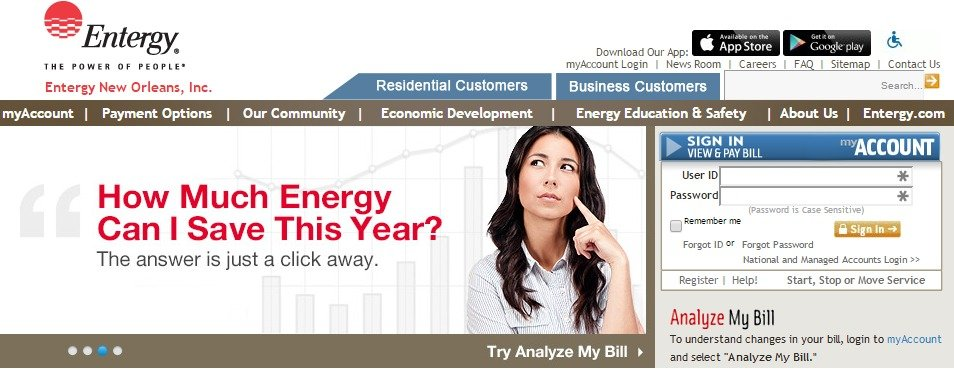 Entergy My Account Login Related Keywords & Suggestions