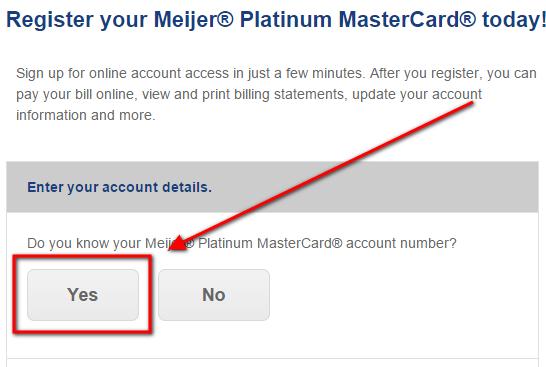 create comenity bank meijer credit card account