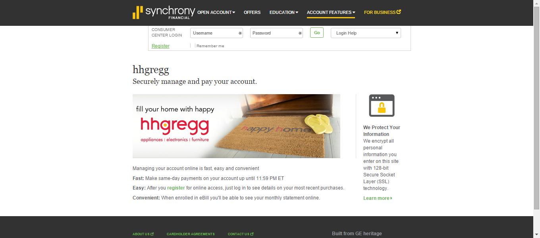 3 Ways To Pay Your Hhgregg Credit Card Bill Online - MyCheckWeb.Com