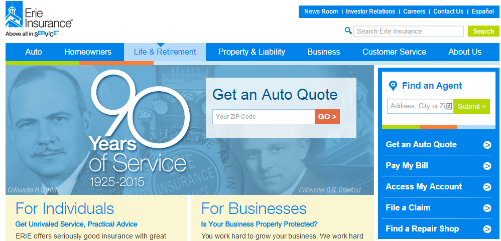 Erie Insurance Quotes Extraordinary Erie Insurance Quote Mesmerizing Erie Insurance Auto Quote