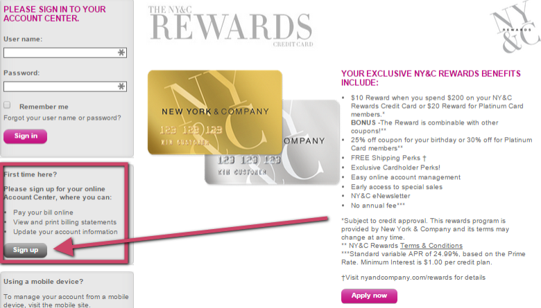 New York And Company Credit Card Payment >> Comenity Net Newyorkandcompany Ny Co Rewards Card Kudospayments Com