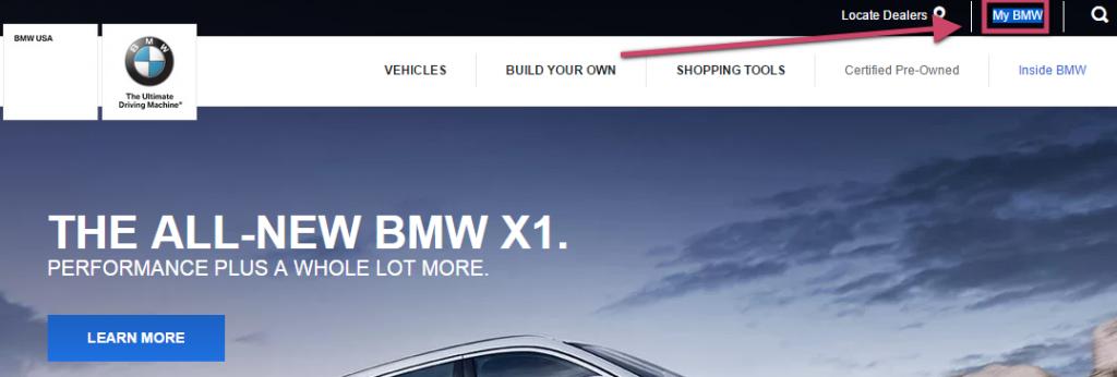 Bmwusa Com Mybmw Mybmw Customer Services Mycheckweb Com