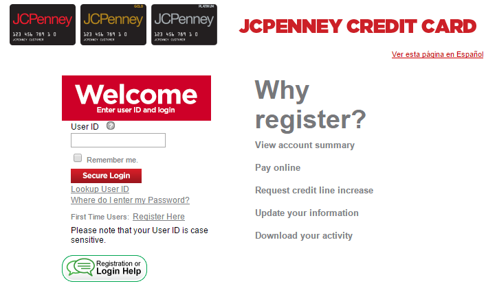 Dec 08,  · How to Make a JCPenney Credit Card Payment. Once you've registered your information, making an online payment to apply to your JCPenney credit card account is simple. Follow these steps: Go to the JCPenney online credit center. Enter your user ID and password.