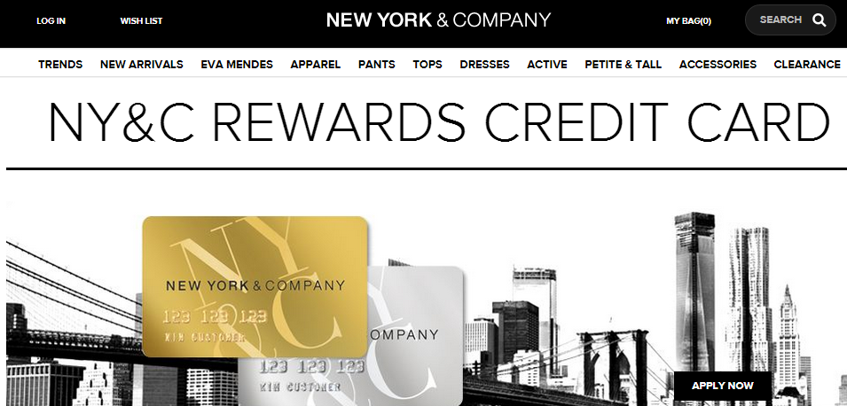 New York And Company Credit Card Payment >> Www Nyandcompany Com Nyco Credit Card Ny Co Rewards Credit Card