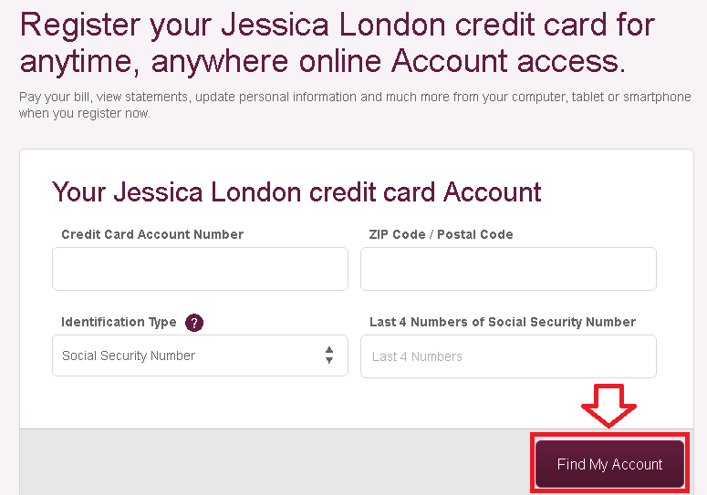 comenity net jessica london credit card payment