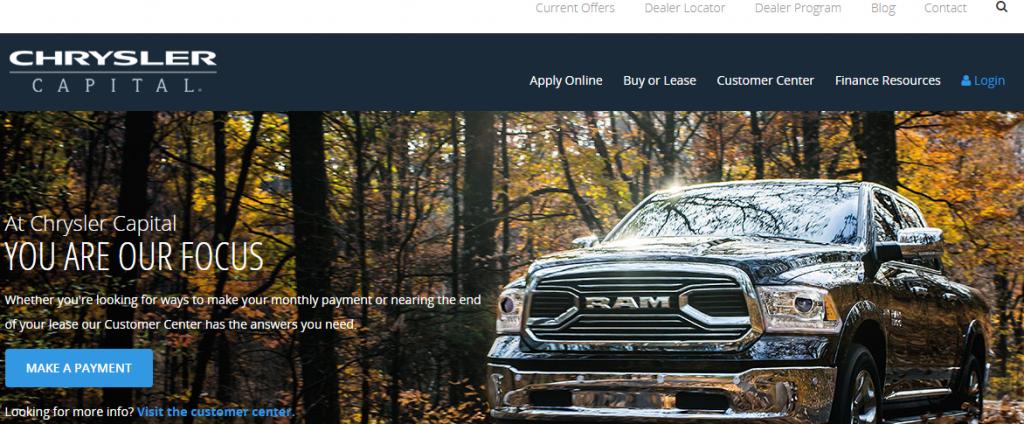 Chrysler Capital Finance >> Www Chryslercapital Com Chrysler Capital Kudospayments Com