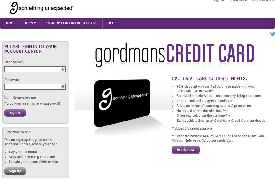 comenity net gordmans gordmans credit card mycheckweb com. Black Bedroom Furniture Sets. Home Design Ideas