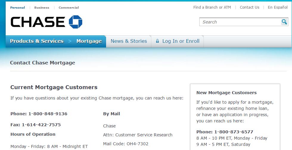 Permalink to Chase Bank Customer Service