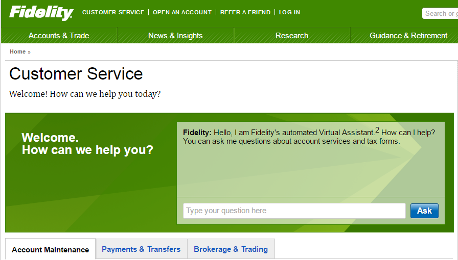 Fidelity Home Insurance Phone Number