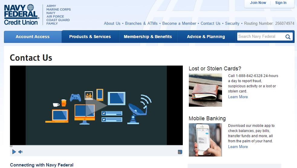 Utilities Employees Credit Union >> Contact Navy Federal Credit Union Customer Service   MyCheckWeb.Com