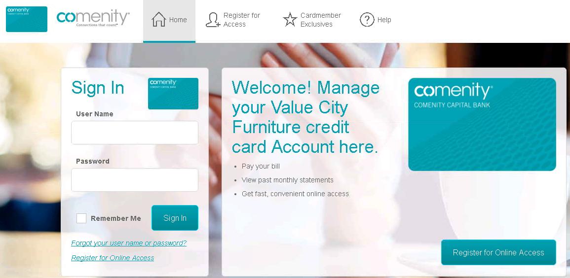 Comenity Net Value City Furniture Comenity Bank Value City