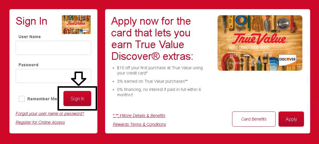 Comenity Net Truevaluediscover True Value Discover Credit Card Payment