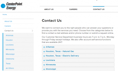 Centerpoint Phone Number >> Contact Centerpoint Customer Service Kudospayments Com