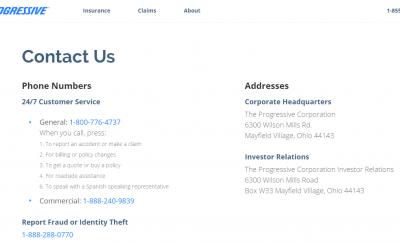 Progressive Insurance Phone Number >> Contact Progressive Customer Service Kudospayments Com