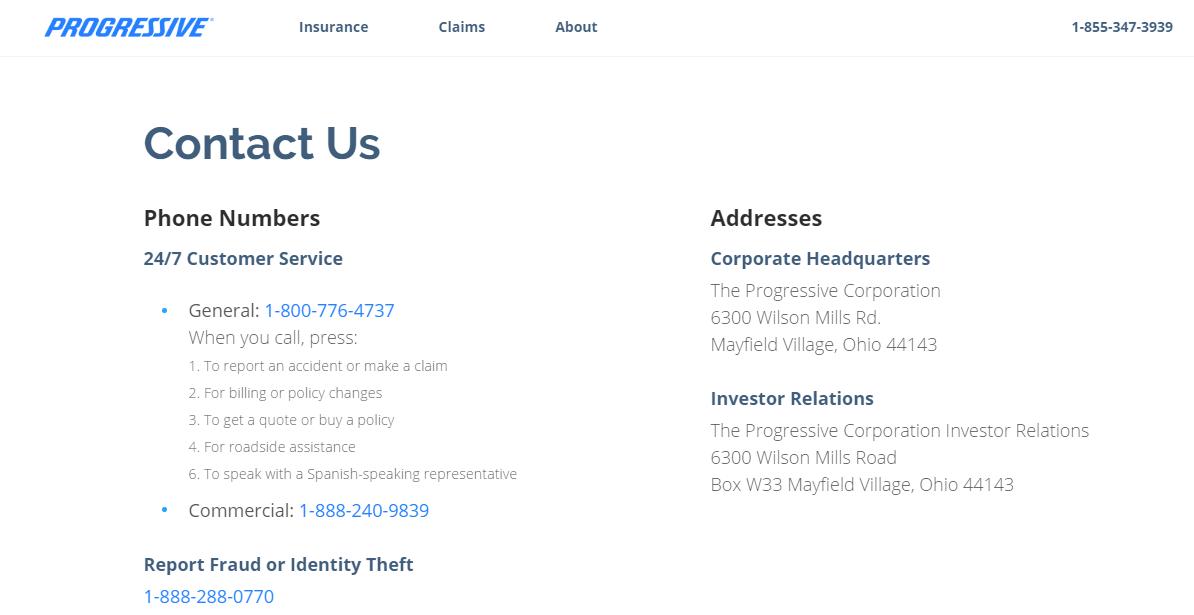 Contact Progressive Customer Service Kudospayments Com