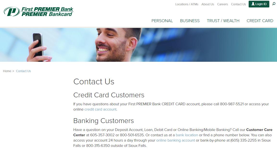 Contact first premier bank customer service mycheckweb colourmoves Images