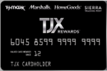 THANK YOU FOR BEING A LOYAL TJX REWARDS MEMBER