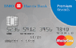 Bmo Harris Bank Premium Rewards Mastercard Benefits Rates Fees