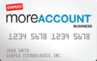 staples credit card login