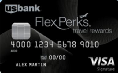 U S Bank Flexperks Travel Rewards Visa Signature Card  Apr