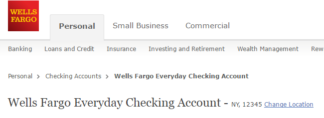 Wells Fargo Business Wiring Instructions : Wells fargo checking account personal and business types