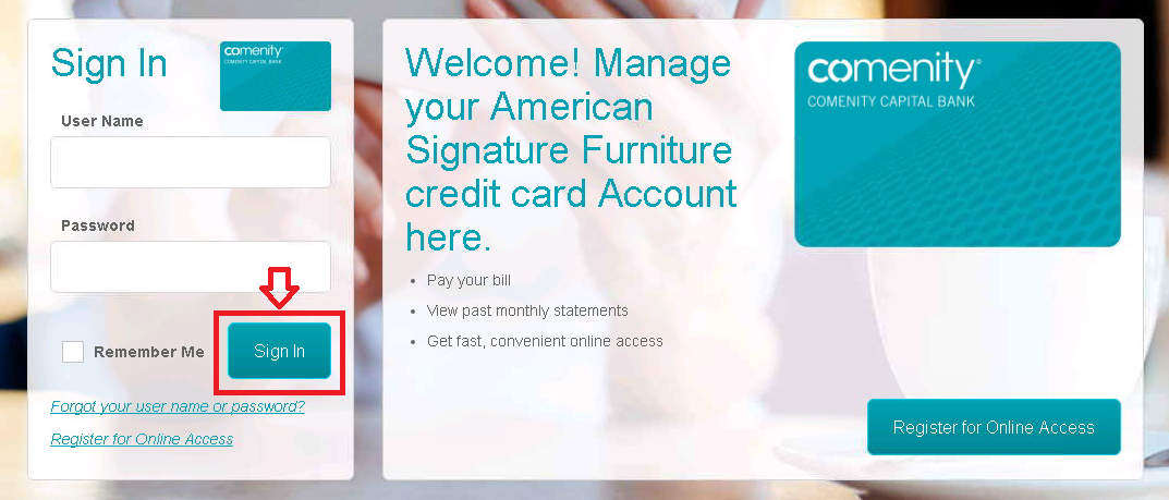 Furniture credit card login to 28 images comenity net for Raymour and flanigan credit card login