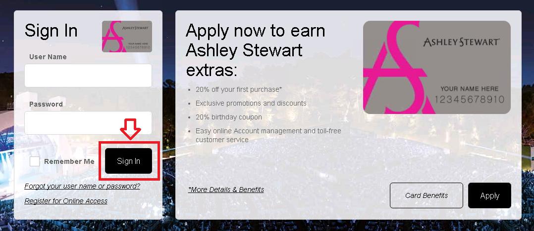 ashley stewart comenity credit card login payments online mycheckweb com. Black Bedroom Furniture Sets. Home Design Ideas