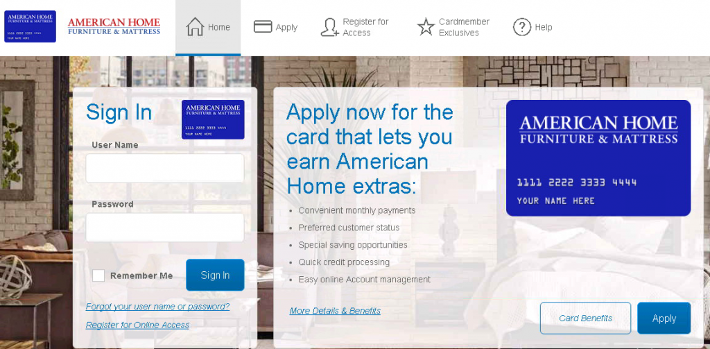 Comenity net american home comenity bank american home for Americanhome com