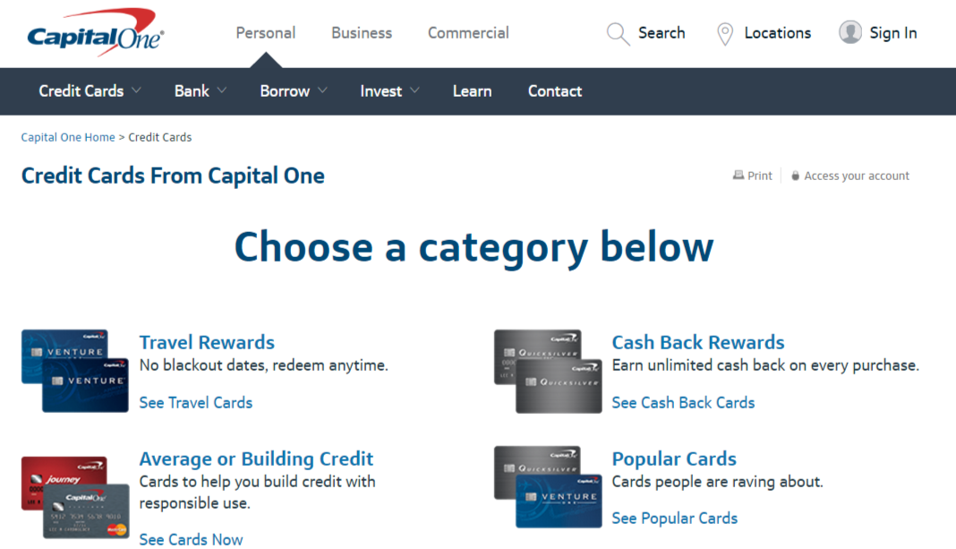 Capital One Credit Card Online Payment Login >> CapitalOne.Com/PayBill | Capital One Credit Card Payment Options