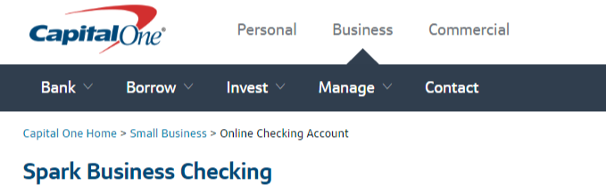 The Capital One Spark Business Checking account is one of the best free business checking account options available currently. Previously, there was only one version of this Business Checking account and it was available online only.