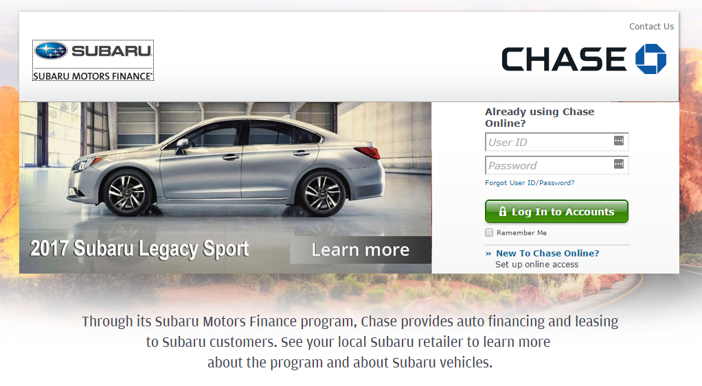 mysubarumotorsfinance com subaru motors finance payment