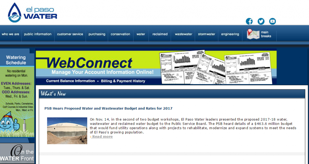 EPWU Org | El Paso Water Bill Payment - KUDOSpayments Com