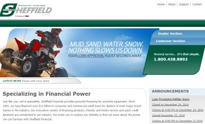 sheffield financial login bill pay