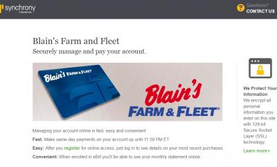 Blain's farm and fleet coupon policy