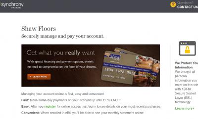 Synchrony Bank Discount Tire >> Synchrony Bank Bill Pay - MySynchrony.Com - MyCheckWeb.Com