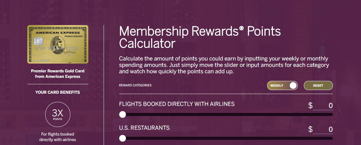 Americanexpress Com Reward >> How You Can Benefit from the Amex Points Calculator