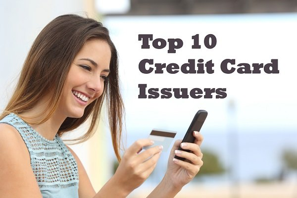 10 Largest Credit Card Issuers in the USA 2018 ...