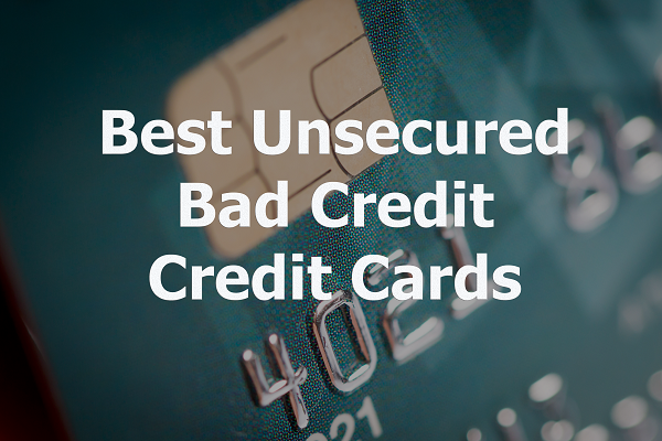 bank of america unsecured credit card for bad credit
